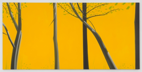 Alex Katz at the Museo Nacional Thyssen-Bornemisza, Spain