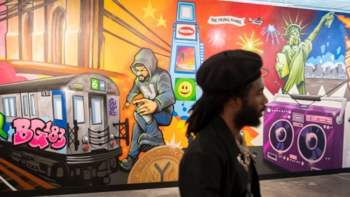 'Beyond the Streets' exhibit displays sweeping overview of street artists
