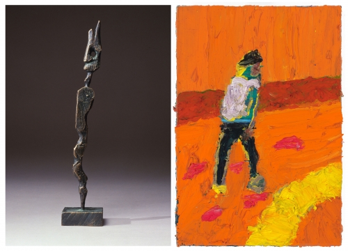 A.R. PENCK BRONZES & FLORIAN KREWER PAINTINGS