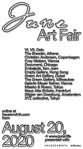 Green Art Gallery joins June Art Fair