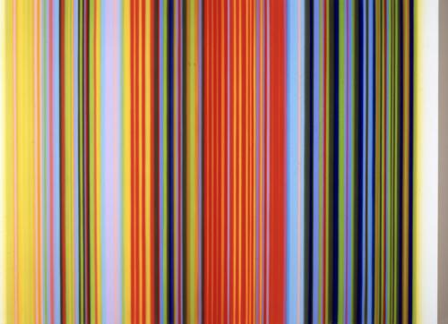 Tim Bavington: Mark Moore Gallery