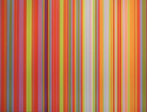 Tim Bavington Sprays Exuberant, Visual Music