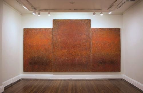 Rebecca Purdum, Winter Work, 2015 installed at the New York Studio School.