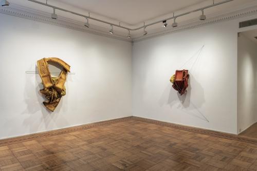 Installation view of the exhibition, Kennedy Yanko: Postcapitalist Desire, Tilton Gallery, 2021.