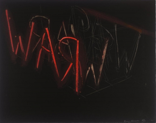 Bruce Nauman, Untitled Lithograph, 1971