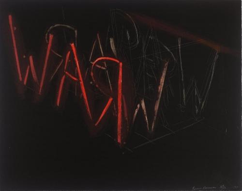 Bruce Nauman, Untitled Lithograph, 1971
