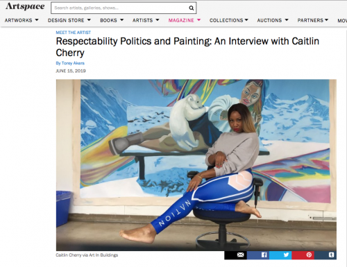 Artspace article
