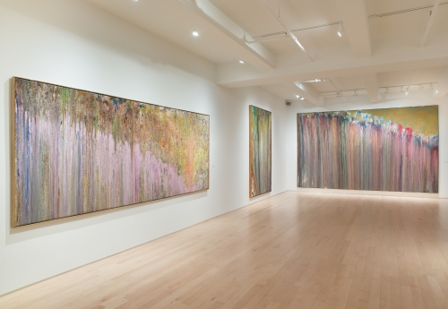 At 7 Art Galleries, the Ecstatic Flow of Paint and the Stories It Can Tell: Larry Poons