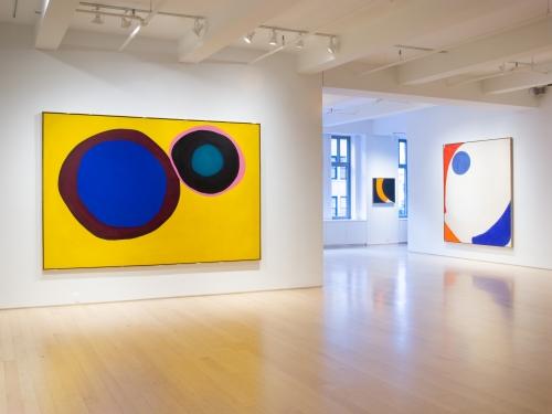 "Olitski's Stunning ""Core"" at Yares Art"