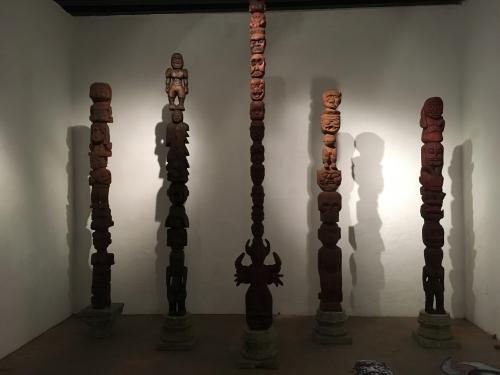 dr. lakra participates in Museo de la Ciudad in Queretaro with her exhibition yurugu dr.lakra en diálogo con rené bustamante