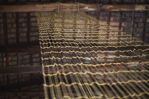 Leonor Antunes participa en Palazzo Giustinian Lolin en Venecia con su exposición a seam, a surface, a hinge or a knot