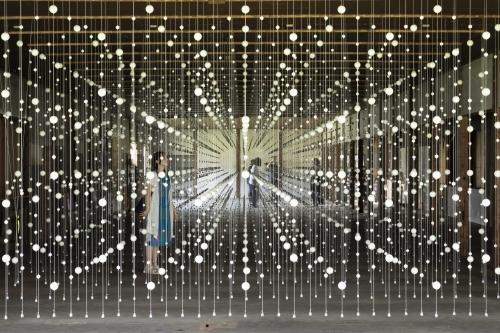 Damián Ortega participtes in Echigo-Tsumari Art Triennale 2018 in Tsunan with her exhibition warp cloud