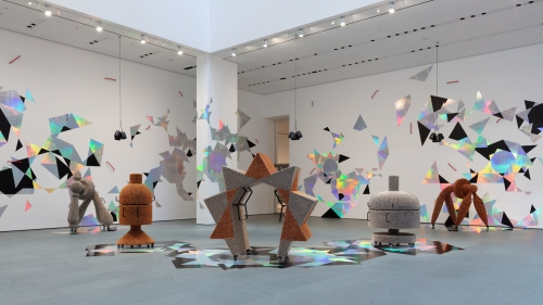 Haegue Yang participates in MoMA in New York with her exhibition Handles