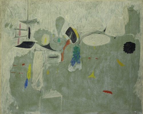 The Limit, 1947, by Arshile Gorky