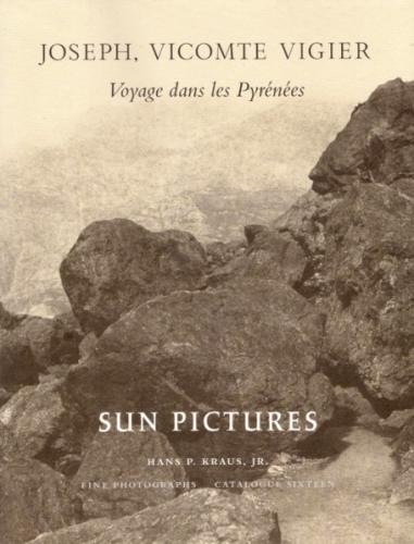 Joseph, vicomte Vigier: Voyage dans les Pyrénées