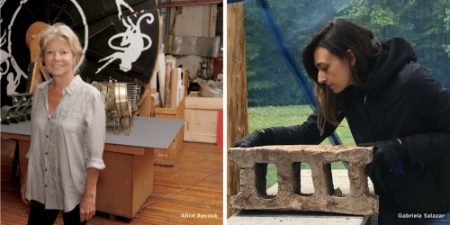 Virtual Program: Art and Nature: Gabriela Salazar and Alice Aycock in Conversation