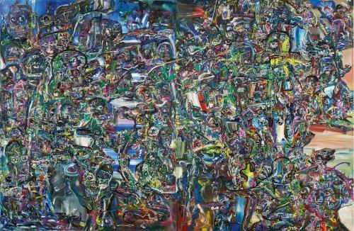 Jackson Pollock, FN Souza, Galerie Mirchandani + Steinruecke, P. R. Satheesh FRENETIC, ARTFORUM Critics' Picks, Zeenat Nagree