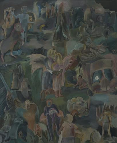 SOSA JOSEPH, Irul the Dark, 2015, oil on canvas,