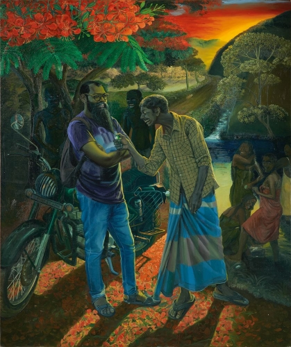 Solo Show by Ratheesh T. (News Circuit)
