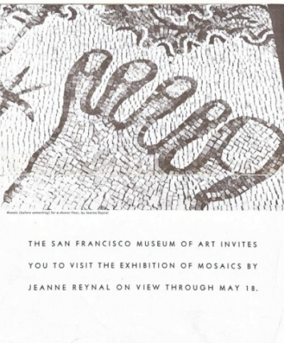 1941 sf moma invite