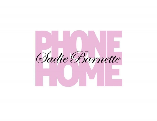 Sadie Barnette: PHONE HOME