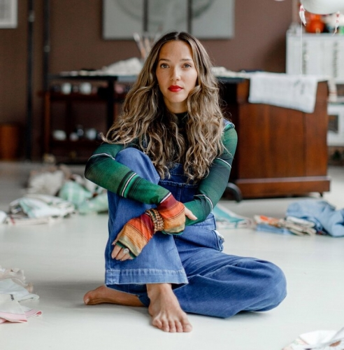 Artist Zoë Buckman's Brooklyn Loft Embodies Her Creative Outlook