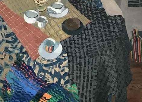 Broken Blinds, Claire Kincade Oil On Canvas