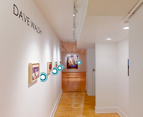 Dave Walsh, This Land + Selected Works Virtual 3D Gallery Tour