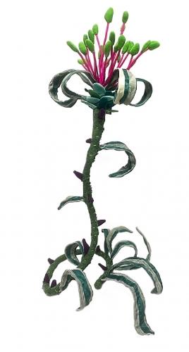 Matchstick Flower, Melanie Fischer