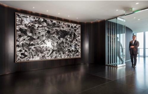 J. Steven Manolis' Black & White, 2017 Zaha Hadid Sky Lounge, Miami, FL