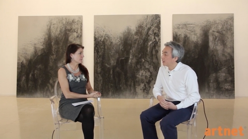 artnet Interview by Heather Russell