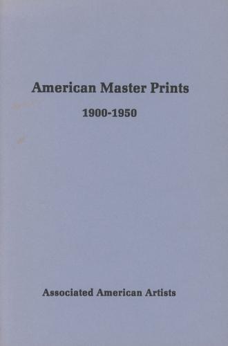 A.A.A. American Master Prints 1900-1950