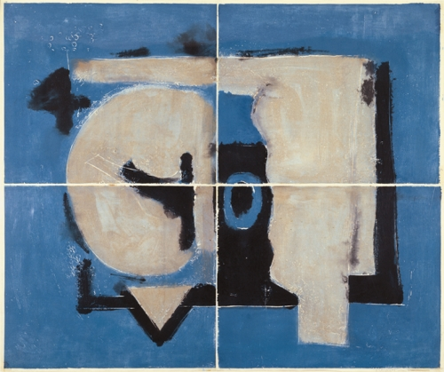 """""""Sam Glankoff Print-Painting"""", Valerie Carberry Gallery"""