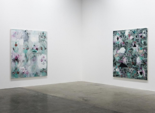Palimpsest: Unstable Paintings for Anxious Interiors