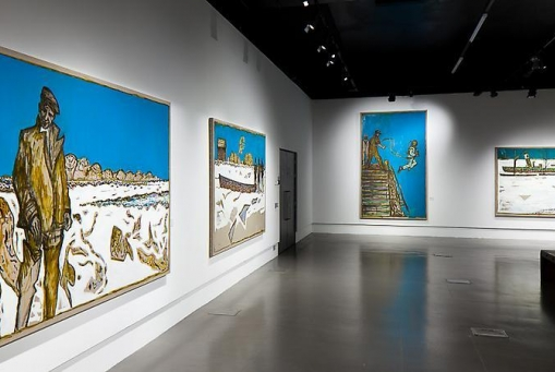 比利·查爾迪斯:Frozen Estuary and Other Paintings of the Divine Ordinary