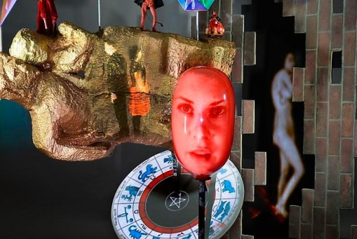 Tony Oursler: Agentic iced etcetera