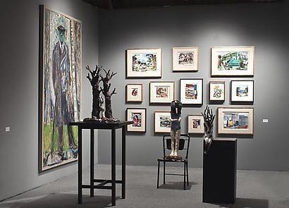 美國藝術經銷商協會藝術博覽會 2012