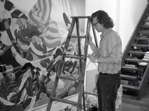 Peter Saul 1975