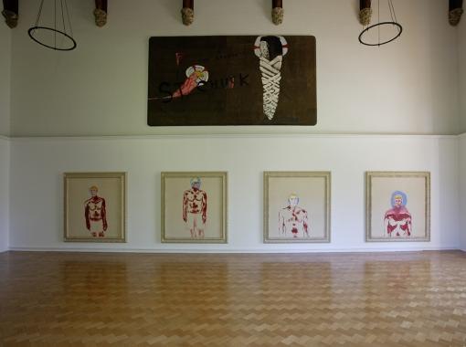 Chuck Paintings 2003-2004