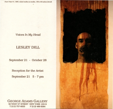 Lesley Dill: Voices In My Head