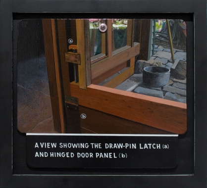 Tony May 'A View Showing the Draw-Pin Latch...'