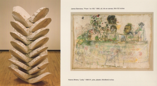 Hanno Ahrens and James Barsness 1991 Exhibition Announcement