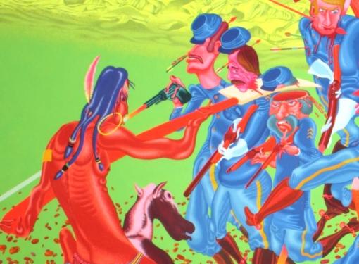 Peter Saul: Paintings and Drawings, 1956-1976