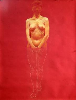 James Valerio, 'Dancer (Partial Study)' 1987.