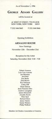 Arnaldo Roche-Rabell: New Paintings
