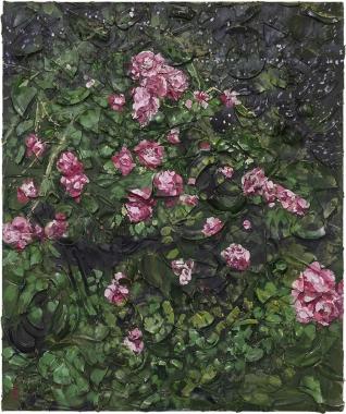 Rose Plate paintings