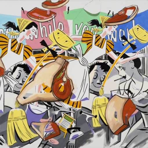 David Salle Painting Thumbnail