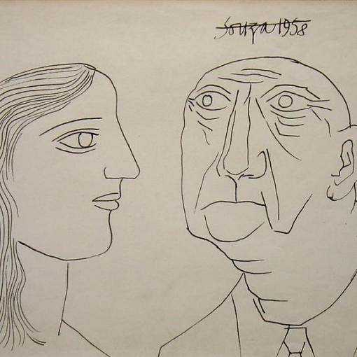 F. N. Souza | Works on Paper