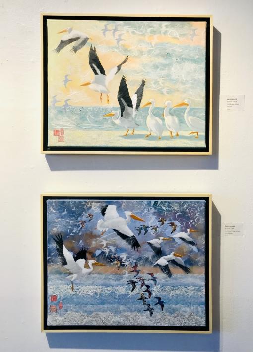 """New Paintings"" | Tanya Dischler, Krista Roche, Gary Schiro, Nancie Roark"