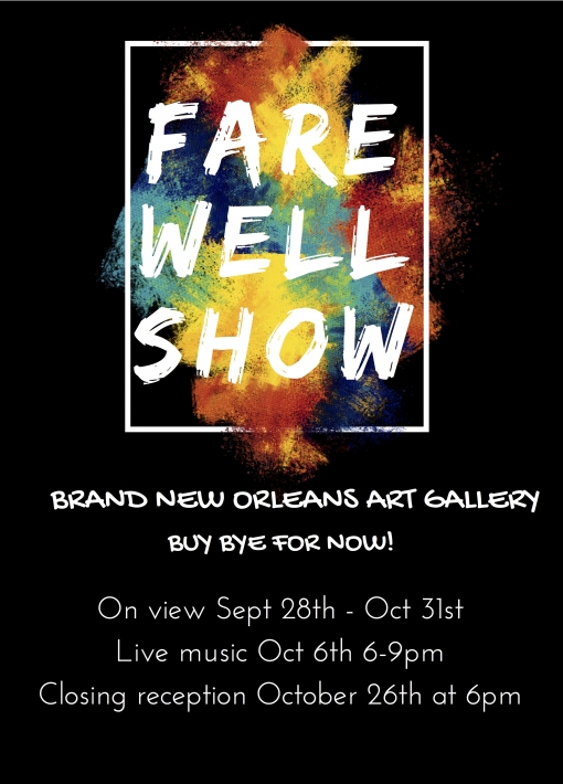Brand New Orleans Art Gallery